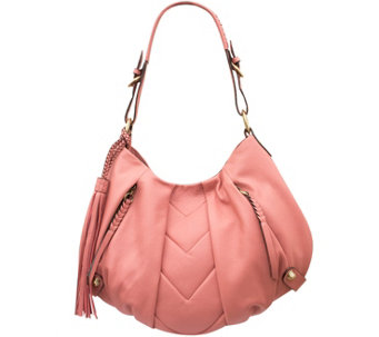 """As Is"" orYANY Smooth Leather Hobo - Lucia - A285864"