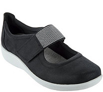 Clarks Cloud Steppers Adjustable Mary Janes - Sillian Cala - A290064