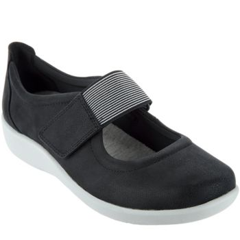 Clarks Cloud Steppers Adjustable Mary Janes - Sillian Cala