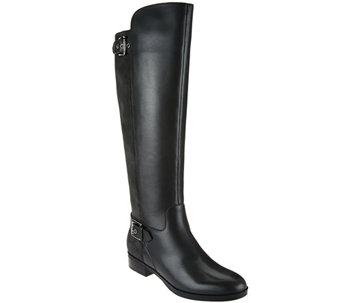 """As Is"" Marc Fisher Medium Calf Tall Shaft Leather Boots - Damsel - A291864"