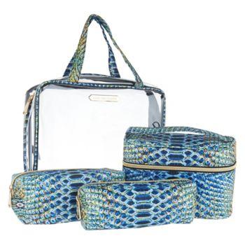 Aimee Kestenberg Nylon Set of 4 Cosmetic Bags