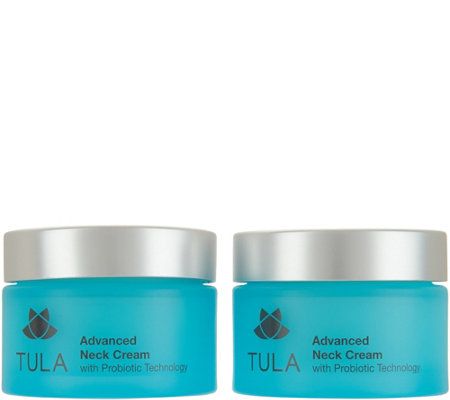 TULA by Dr. Raj Probiotic Neck Cream Duo