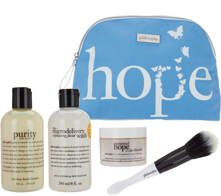 philosophy festive flawless skincare kit