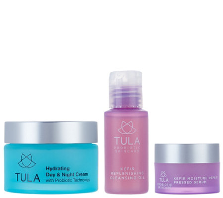 TULA by Dr. Raj Hydrating Day & Night Cream w/ Kefir Discovery Set