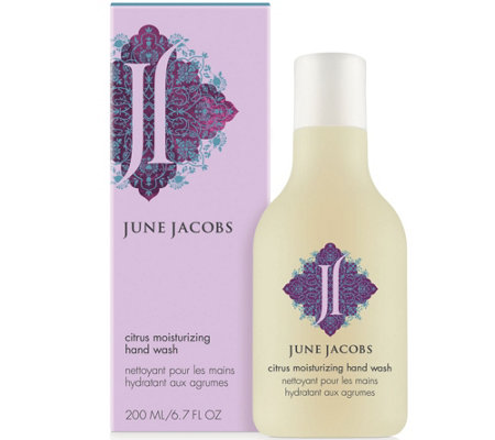 June Jacobs Citrus Moisturizing Hand Wash, 6.7oz