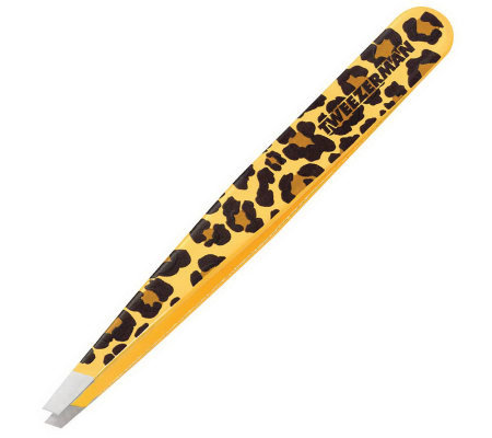 Tweezerman Slant Tweezer - Animal Print