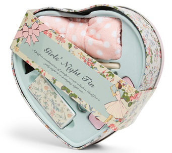 The Vintage Cosmetic Company Girls' Night Tin Heart - A355664