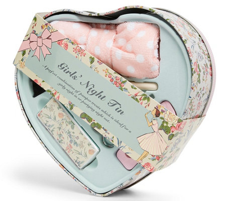 The Vintage Cosmetic Company Girls' Night Tin Heart