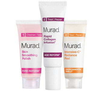 Murad Peel, Polish & Plump Gift Set - A356464