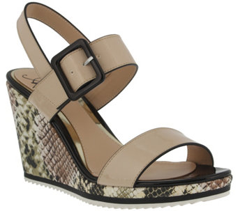 Azura by Spring Step Womens Tresna Wedge Sandal