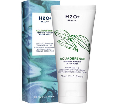 H2O+ Beauty Aquadefense Refining Matcha Detox Mask, 2 oz