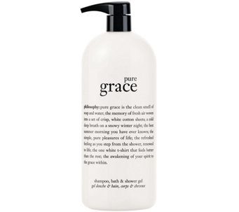 philosophy super-size pure grace shower gel - A10465