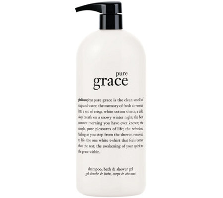 philosophy super-size pure grace shower gel
