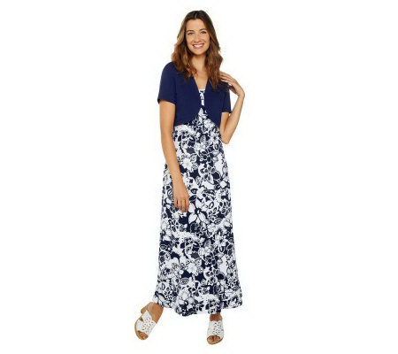 Maxi dress qvc it