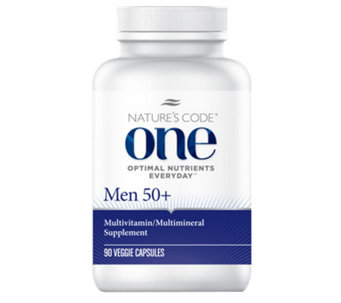 Nature's Code ONE 90 Day Once Daily Men's Multivitamin Capsules - A254165