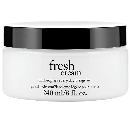 philosophy fresh cream body souffle 8 oz