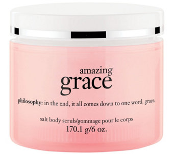 philosophy hot salt body scrub 6 oz. - A270665