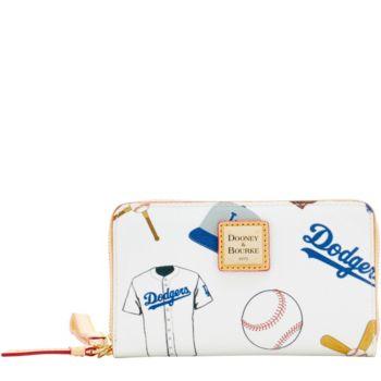 Dooney & Bourke MLB Dodgers Zip Around Phone Wristlet