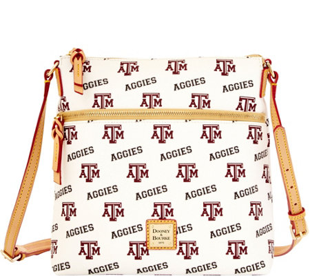 Dooney & Bourke NCAA Texas A&M University Crossbody