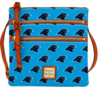 Dooney & Bourke NFL Panthers Triple Zip Crossbody - A285665