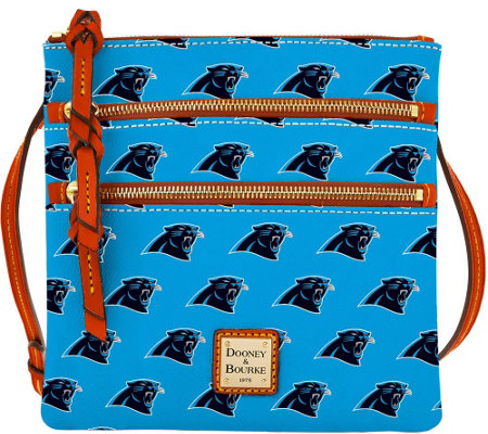 Dooney & Bourke NFL Panthers Triple Zip Crossbody