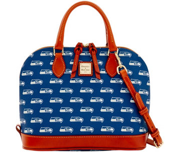 Dooney & Bourke NFL Seahawks Zip Zip Satchel - A285765