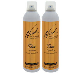 Nick Chavez Diva Legendary Dry Texturizing 10 oz. Spray Duo - A286565