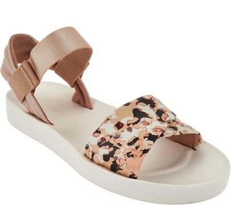 Clarks Active Leather Slip-on Sandals - Seanna Sun