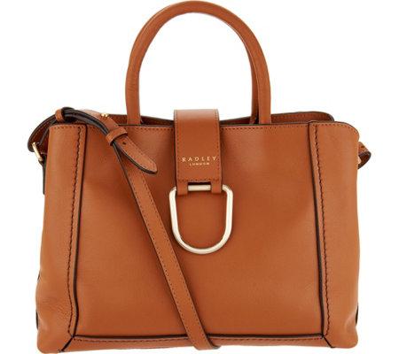 Radley London Primrose Hill Leather Satchel Handbag - Page 1 — QVC.com