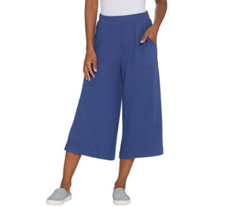 Peace Love World Comfy Knit Gaucho Pants A