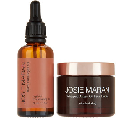 josie maran argan oil face butter duo page 1. Black Bedroom Furniture Sets. Home Design Ideas