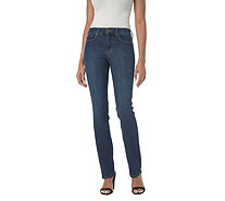 NYDJ Marilyn Straight Leg 5-Pocket Jeans - Cooper - A303965