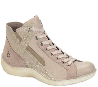 Bionica Leather Hightop Sneaker - Orbit - A338765