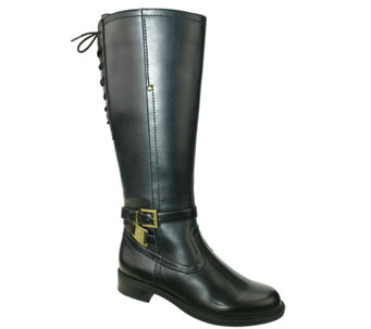David Tate Wide Calf Tall Riding Boots - Valley18 - A341465