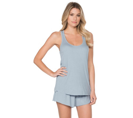 Barefoot Dreams Luxe Ribbed Jersey Tank