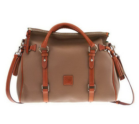 """As Is"" Dooney & Bourke Dillen Leather Medium Satchel"