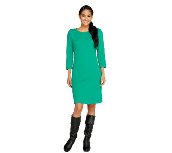 Liz Claiborne New York Petite Essentials Knit Dress - A256566