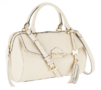 """As Is"" Aimee Kestenberg Leather Large Leah Satchel - A264166"
