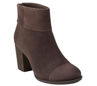 Clarks Leather or Suede Ankle Boots - Enfield Tess - A270266