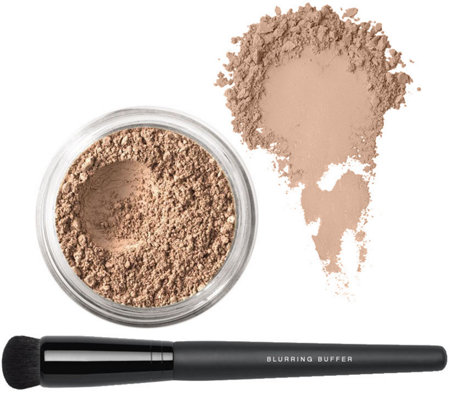 bareMinerals Deluxe Bisque with Blurring Buffer Brush
