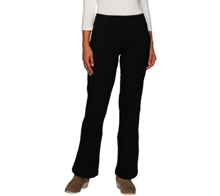 """As Is"" Woman with Control Regular Contour Waist Boot Cut Pants"