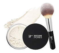 IT Cosmetics Super-Size Bye Bye Pores Silk Finishing Powder w/ Brush - A277966