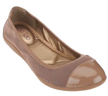 """As Is"" Me Too Mesh Ballet Flats - Harbor"