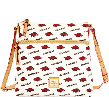 Dooney & Bourke NCAA University of Arkansas Crossbody