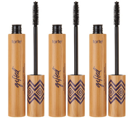 tarte gifted amazonian clay smart mascara trio page  qvccom
