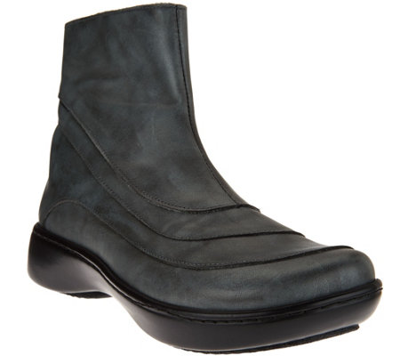 Naot Leather Ankle Boots - Tellin