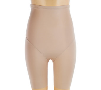 """As Is"" TC Shapewear Just Enough High Waist Thigh Slimmer - A293266"