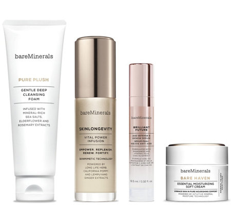 bareMinerals Glow to Go Normal to Dry Travel Kit