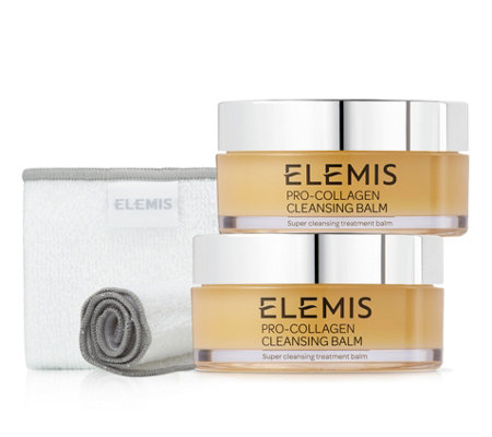 ELEMIS Pro-Collagen Cleansing Balm Duo