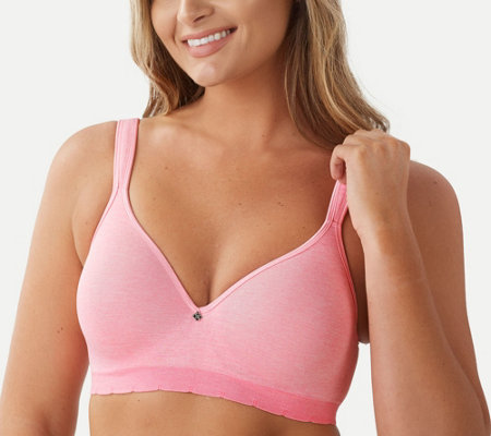"""As Is"" Breezies Seamless Underwire T-Shirt Bra"